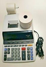 Sharp El-2630Piii 12 Digit Commercial Printing Calculator - El2630