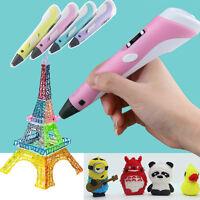 2016 Gift 3D-Stereoscopic Doodler Printer Pen mit LCD-Bildschirm - PLA ABS NEW