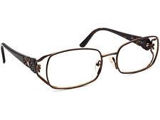 Fendi Women's Eyeglasses F872 212 Brown Rectangular Frame Italy 54[]17 135