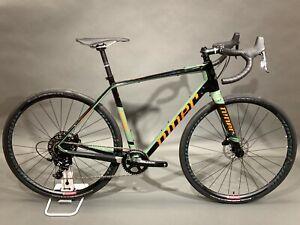 2021 Niner RLT 9 RDO 2-Star Sram Apex Carbon Fiber Gravel Bike Disc Brakes 1x11