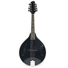 Savannah SA-100-BK Acoustic A-Style Mandolin - Black
