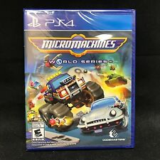 Micro Machines World Series (Sony PlayStation 4, 2017) BRAND NEW