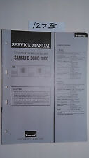 Sansui b-3000 1000 service manual original repair book stereo power amplifier