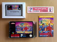 Game ☆ SUPER DOUBLE DRAGON Tradewest Super Nintendo SNES PAL ☆ Extreme rare