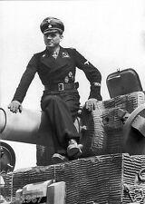German WW2 Michael Wittmann Panzer tank commander postcard print