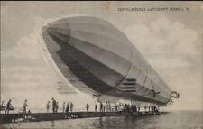 German Zeppelin Luftschiff Modell 4 c1910 Used Postcard jrf