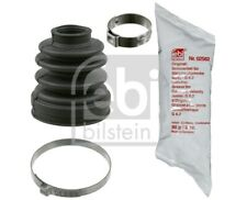 CV Joint Boot Kit fits FORD FOCUS ST170 Mk1 2.0 Front Inner 02 to 04 ALDA Manual