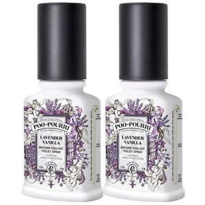 Poo Pourri Lavendar Vanilla 2 x 2oz Pack (Amazon & eBay Only)