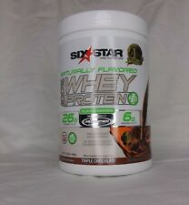 Six Star Pro Nutrition 100% Whey Protein Powder Clean Series Triple Chocolate
