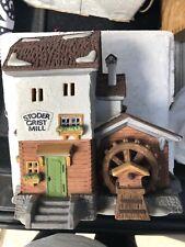 Dept 56 Heritage Village Collection Alpine Village Series Stodder Grist Mill