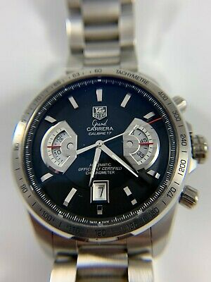 Tag Heuer Grand Carrera Calibre 17RS CAV511A.BA0902 Wrist Watch for Men