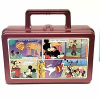 Disney Whirley Cook'd Up Comics Pencil Lunch Box Vol. 1 No.5 Mickey Goofy