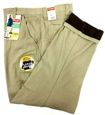 Wrangler Fleece Lined Cargo Pants Relaxed Fit  Work Fishing Hunting  Mens NEW
