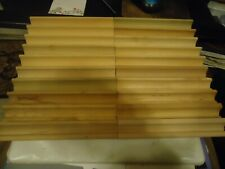 Lot 20 Scrabble Wooden Replacement Letter Tile Racks Holders Tournament Crafts +