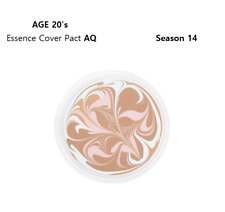 AGE 20'S All New Essence Cover Pact AQ SPF 50+ PA +++(#21) Season 14 Refill K-Be