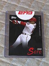 Topps Juan Soto 2019 Cyber Weekend Baseball Card 3 of 8
