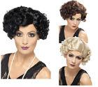 20s Ladies Short Curly Wigs 1920s Flapper Fancy Dress Wig