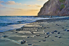 Dana Point California Beach Ocean Wall Art, Large Canvas, Metal, Photo Art Print