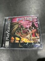 King's Field II (Sony PlayStation 1, 1996) Complete  PS1