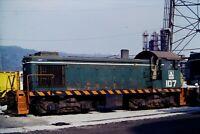 Original Slide J&L Steel Railroad Swticher S2 107 Aliquippa, PA 1979