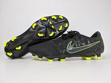 Nike Phantom Venom Pro Fg Black Pack Soccer Cleats Volt Ao8738-007 Men's size 8