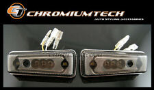 1986-13 Mercedes W463 G-CLASS G-Wagen LED Side Marker Signal Light w/CHROME Trim