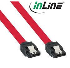InLine SATA 6Gb/s Anschlusskabel, mit Sicherheitslasche, 50cm (SATA III)