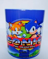 Sega Mega Drive Sonic The Hedgehog 2-sonic Colas-Taza de Café Taza Retro De Regalo
