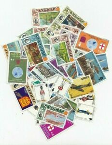 Channel Islands 50 Different Stamps Collection Mixture Packet