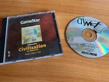Civilization 1 / Civnet - Original Cdrom - Hülle aus Gamestar