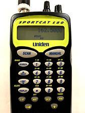 Uniden SC180 Sportcat  Programmable Scanner Fire Weather Police HAM Radio PRO