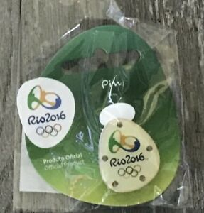 AUTHENTIC OFFICAL 2016 RIO OLYMPIC/PARALYMPIC LOGO MASCOT PINS