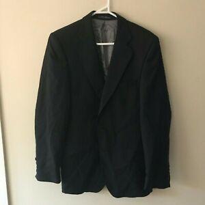 Zara Man Suit size 36 Black Jacket only  - FREE Postage