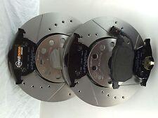 VW Audi Tt 8n Course Disques de Frein et Sabots Kit avec ABE 312 X 25 mm Avant