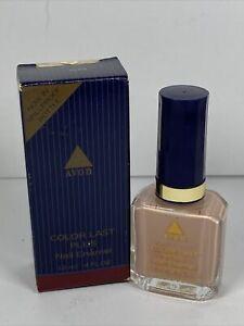 Avon COLOR LAST PLUS Nail Enamel NUDE 395 Vtg 12 ml Make Up Nailwear Polish 1995