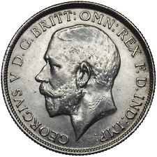 More details for 1919 florin - george v british silver coin - very nice