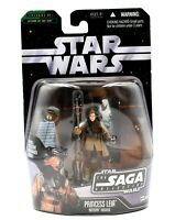 Star Wars The Saga Collection - #01 Princess Leia Boushh Disguise Action Figure