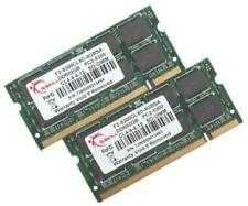 4GB G.Skill DDR2 PC2-5300 SO-DIMM laptop memory (CL5) dual channel kit
