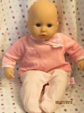 Zapf Creation JC Toys talking coos burps Baby Annebell doll Battery operated