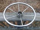 """Stainless Steel Boat Steering Wheel 16"""" 6-Soke Chrome Sailboat Ship Marine"""