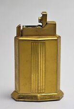 Uncommon Vintage Elgin American Art Deco Flint & Fluid Table Lighter.