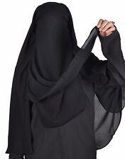 Extra Long niqab voile visage Hijab prière-islamique vêtements hi0383