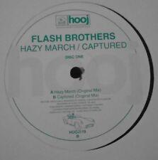 "Flash Brothers ~ Brumeux Mars/capturé ~ 12"" SINGLE DISC One-PROMO"
