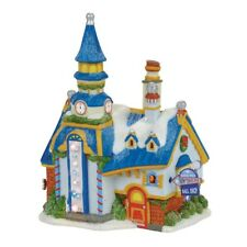 Department 56, North Pole Village, NP New Year's Eve Center - 4056667