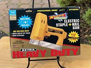 Arrow Heavy Duty Electric Staple and Nail Gun model ETF50PBN
