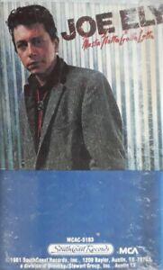 Joe Ely-Musta Notta Gotta Lotta Cassette.1981 MCA MCAC 5183.Dallas/Hold On+