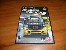 Super Trucks Racing (Sony PlayStation 2, 2003) Used Complete PS2