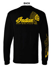 INDIAN MOTORCYCLE GRAPHIC  T-SHIRT  LONG SLEEVE