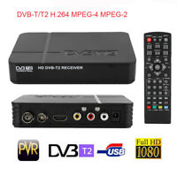 DVB-T2 3D HD Set Top TV Box Digital Receiver Recorder HDMI USB 1080P EU Plug