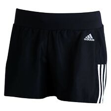 Adidas Women's Quest Running Shorts Black/white Size 12-14